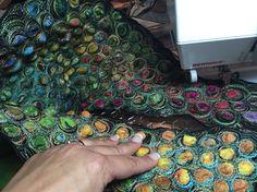 Free motion stitching... Gordana Brelih