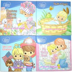 Precious Moments Adorable 4 Storybooks Set | eBay