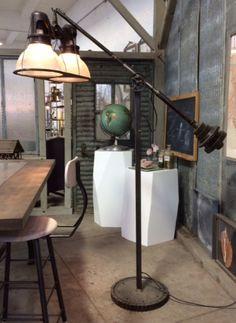 Holophane Floor Lamp. Showroom, Floor Lamp, Table Lamp, Lighting, Inspiration, Design, Home Decor, Biblical Inspiration, Table Lamps