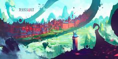 General 1600x800 concept art artwork digital art video games Duelyst Anton…