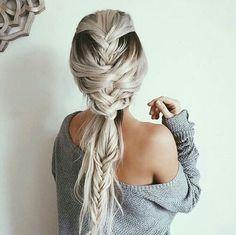 peinado increible mujer