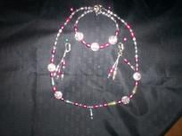 Handmade Necklace and Earring Set Free Shipping S16
