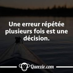 Décision Witty Quotes, Daily Quotes, Silver Quotes, Quote Citation, Positive Mind, Happy Thoughts, Self Development, Beautiful Words, Sentences