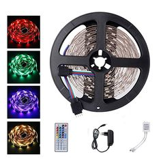 LED Strip Light Flexible Tape Waterproof Lighting Decoration Kit Outdoor for sale online Pc Network, Dinning Room Sets, Led Flexible, Strip Led, Led Band, Traditional Baths, Led Stripes, Color Changing Led, Lighting Solutions