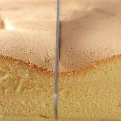 Easy Cake Recipes - New ideas Sweets Recipes, Baking Recipes, Baking Desserts, Bolo Chiffon, Lemon Chiffon Cake, Japanese Cake, Sponge Cake Recipes, Cake Decorating Videos, Desert Recipes