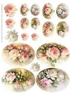 vintage floral printables for decoupage and scrapping Vintage Tags, Vintage Diy, Vintage Labels, Vintage Ephemera, Vintage Paper, Vintage Flowers, Vintage Prints, Vintage Floral, Decoupage Vintage