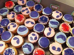 Medical laboratory and biomedical science: WBC cupcakes Neutrophils, Monos, blasts, bands, eos, and basos :)