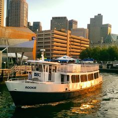 The Rookie doing the inner harbor shuttle between Charlestown and Boston. For just a few dollars you can get in and out of Boston with ease! Iconosquare – Instagram webviewer