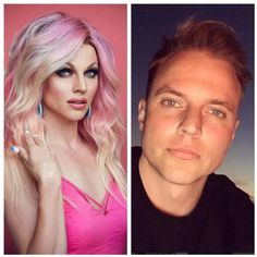Male To Female Transition, Mtf Transition, Simply Beautiful, Gorgeous Women, Male To Female Transformation, Makeup Transformation, Best Drag Queens, Drag Race Season 6, Courtney Act