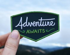The perfect patch for anyone who loves exploring, ESPECIALLY at night, since this patch is glow-in-the-dark. The word Explorer and the stars are all made with glow-in-the-dark thread. Its size makes it perfect to cover up the boring brand logo on your backpack. (you should measure yours just to make sure) Take it on your next after-hours outing! This patch is 3.7 x 2.3 (9.7 cm x 5.83 cm) and has iron-on backing. I always recommend sewing-on, but you can iron-on to make it easier! You can…