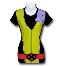 Kitty Pryde Juniors Costume T-Shirt