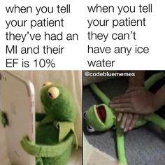 That really hurts Healthcare Memes, Medical Memes, Icu Nursing, Nursing Notes, Funny Nursing, Medicine Humor, Nurse Jokes, Hospital Humor, Night Nurse