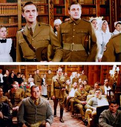 Downton Abbey Season 2 - I was so glad when those two walked in!!!!! BEST SCENE EVER.