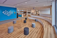 Event space at LeanIX offices in Bonn, Germany