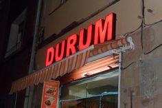 Cafetería DURUM, Avda. Verge de Montserrat, Barcelona.
