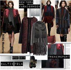 """""""NYFW Fall 2015 Trend Baltik Folk"""" by stylepersonal ❤ liked on Polyvore"""