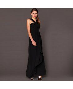 Honey & Beau Sweet Bliss Black Maxi Dress