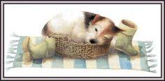 Marjolein Bastin, Saar Decoupage, Marjolein Bastin, Nature Sketch, Nature Artists, Dutch Artists, Dog Paintings, Little Dogs, Cute Illustration, Artist Art