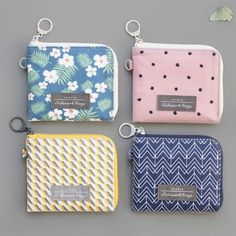 Iconic Comely pattern half zip around wallet 5d305fb9a72b3