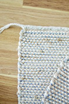 RÄSYMATON HAPSUT PIILOON Stuff To Do, Weaving, Rag Rugs, Knitting, Crochet, How To Make, Patterns, Easy Crafts, Rugs