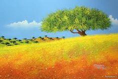 Resultado de imagem para pintura a oleo paisagens alentejanas