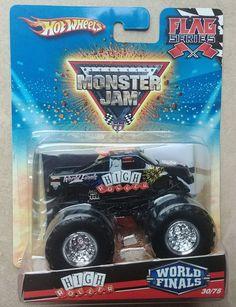 2010 Hot Wheels Monster Jam #30/75 High Roller World Finals 1:64 Truck  #HotWheels #HighRoller3075