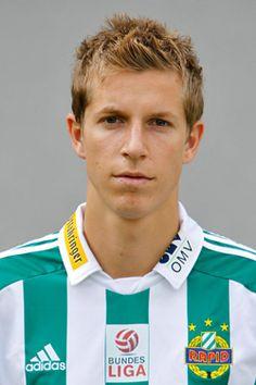 Thomas Hinum of Rapid Vienna in Adidas, Vienna, Football, Soccer, Futbol, American Football