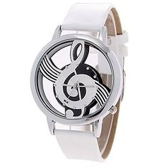 Sanwood Musical Note Hollow Faux Leather Strap Wrist Watch (White) No description (Barcode EAN = 0602731857023). http://www.comparestoreprices.co.uk/january-2017-2/sanwood-musical-note-hollow-faux-leather-strap-wrist-watch-white-.asp