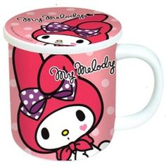 Sanrio Japan My Melody Mug with Lid