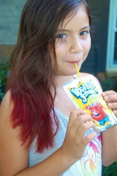 Sipping on Kool-Aid | Dyeing your hair with Kool-Aid #KoolAi… | Flickr
