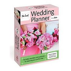 The Knot wedding planner in a box... #weddingplanner #weddings
