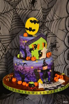 1000 Images About Halloween Cakes On Pinterest