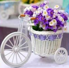 Lovely tricycle flowerstand