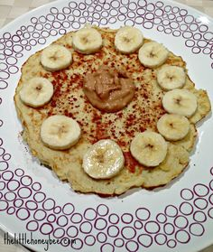 Coconut Banana Pancake (3 ingredients)