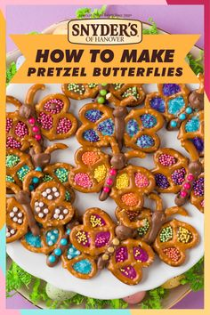 Snyder's of Hanover Pretzel Butterflies Easter Snacks, Easter Treats, Easter Recipes, Easter Food, Yummy Treats, Delicious Desserts, Sweet Treats, Yummy Food, Holiday Treats