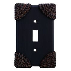 Anne at Home 5005P-23 Roguery Switch Outlet Cover Switch Plate by Anne at Home. $27.23. Configuration:Triple Duplex - Three gang plate, Finish:Brushed Natural Pewter Never forget the finishing touch! Fashioned with the most delicate detail, the pewter hardware from Anne at Home is crafted with the same manufacturing techniques used to create fine jewelry, and will gracefully accent the beauty already present in your home. Capture a mischievous twist on a classic design from th...