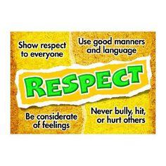Trend Enterprises Respect Poster (Set of 3)