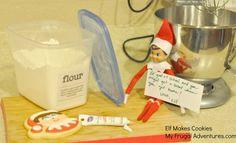 Elf Makes Cookies