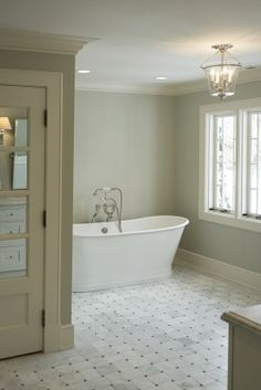 Very stark & cold looking, but has potential. A lot of wasted space in tub area.... bath by cameo homes inc