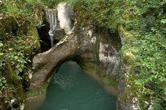 Krčnik natural bridge- Goriška Brda region, Slovenia