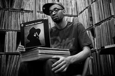 Rich Medina - Philadelphia, PA - Dust & Grooves - Adventures in Record Collecting. A book about vinyl records collectors Vinyl Record Store, Vinyl Records, Philadelphia, Boom Boom Room, Jazz, Vinyl Collectors, Best Dj, Record Collection, Album