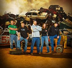 Kings of Crash on Velocity new demolition derby series. This is a must see show! GUMBY is our favorite.