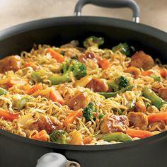 Orange Chicken Lo Mein - The Pampered Chef® pamperedchef.com/toops2havefuncooking