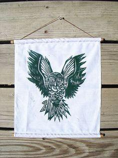 Laura Frisk | Green Owl