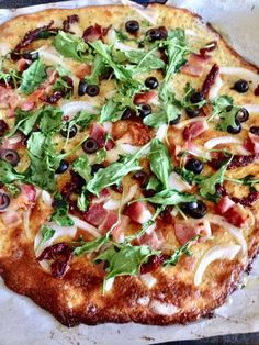 Easy Low Carb FatHead Pizza, Gluten Free