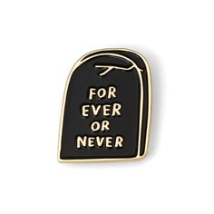"""""""Forever or never"""" is open to interpretation, but it has a nice """"til death do us part"""" vibe, don't you think? Either this..."""