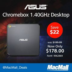 Save $22 on an #Asus Chromebox.