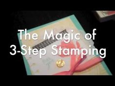 Learn about 3-Step Stamping in under 2 minutes. lotus blossom