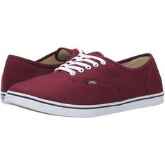 Vans Authentic Lo Pro (Windsor Wine) Skate Shoes