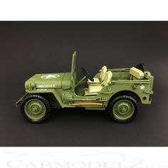 Triple 9 1/18 Willys Jeep Military Police 1944 T9-1800142